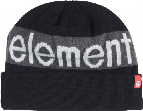 ELEMENT MENS BEANIE HAT.THINSULATE FLEECE LINED PRIMO KNITTED BLACK CAP 9W A2 3